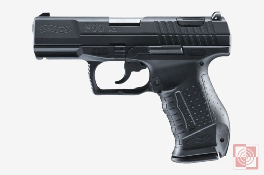 Pistolet Walther P99 AS, kal.9mm PARA